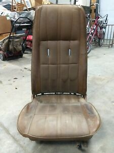 1971 1972 1973 Ford Mustang Mach 1 High Back Bucket Seat Passenger Right Parts