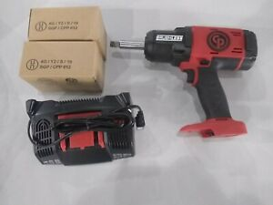 Chicago Pneumatic Cp8849 2 1 2 Cordless Impact Wrench Kit