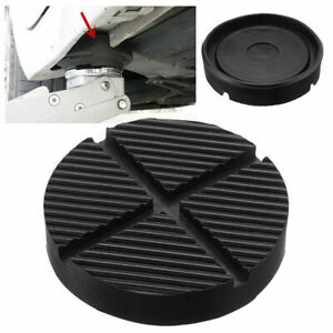 Universal Car Auto Cross Slotted Frame Rail Floor Jack Rubber Pad Adapter Parts