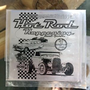 Nos 2nd Annual Hot Rod Happening Dash Plaque 1998 Aces 8s Car Club Show