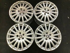 Jaguar S type Factory Wheels 2005 2008 Oem Silver Alloy Rims In Great Condition