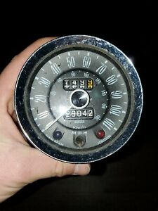 Triumph Spitfire Mk1 Early Jaeger Speedometer Sn 6121 16a 1248 Tpm