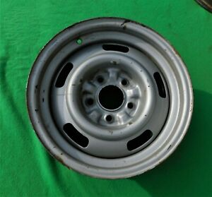 1967 Corvette 15 X 6 Rally Wheel Large Dc Stamped 67 Kelsey Hays Kh Ncrs 1
