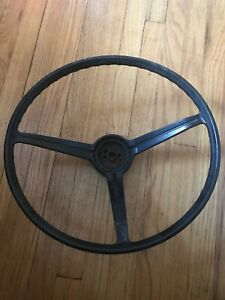 1967 68 Chevy Camaro Original Steering Wheel Horn Ring Cap Impala Chevelle Nova