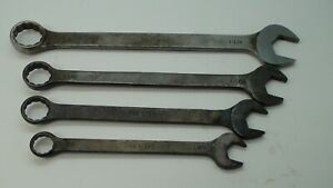 Mac Tools Large Combination Wrench Lot Usa
