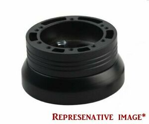 Black Billet 5 6 Hole Steering Wheel Adapter For 1995 2001 Chevy S 10