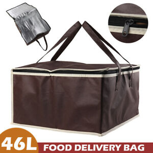 Food Pizza Delivery Insulated Bag Waterproof Bivouac Warm Cold Thermal Bag 14