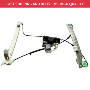 Front Driver Left Window Regulator With Motor For Chrysler Town Country 01 02 03