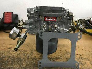 Edelbrock 1406 Performer 600 Cfm 4 Barrel Carburetor No Choke