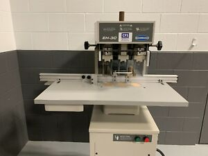 Challenge Eh 3c Hydraulic Paper Drill Professionally Serviced Tested
