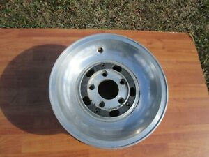 1975 1976 1977 1978 1979 Lincoln Slotted Aluminum Dish Wheel Oem