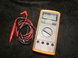 Blue Point Eedm503c Multimeter With Leads And Case