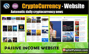 Cryptocurrency Website Profitable And Runs On Autopilot