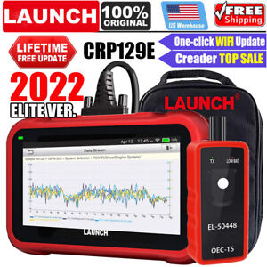 Launch X431 Crp129e Obd2 Scanner Engine Abs Srs Sas At Tpms Epb Diagnostic Tool