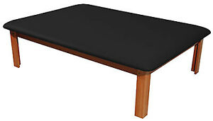 Fabrication Enterprises Mat Platform Table 4 1 2 X 6 Ft Black