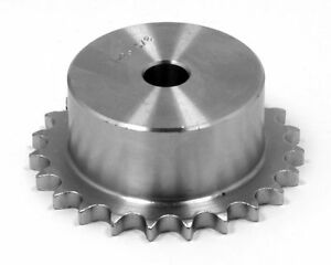 Stainless Steel Roller Chain Pilot Bore Sprocket 4sr25 1 2 Pitch 25 Tooth
