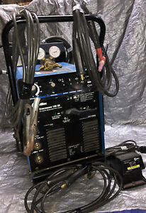 Miller Syncrowave 180 Sd Welder Foot Pedal Torch cables Gauges Ready To Weld