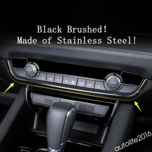 Accessories Middle Ac Air Conditioning Strip Cover Trim For Mazda 6 2019 2020