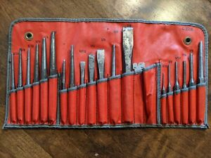 Snap On Punch And Chisel Set Ppc 200 1977