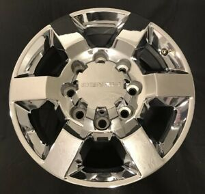 18 Gmc Sierra Denali 2500 3500 Hd 2015 2018 Factory Chrome Wheel Oem Rim 5702