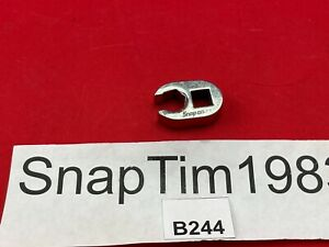 Snap On Tools 3 8 Drive Flare Nut Crowfoot Wrench 7 16 Frh140s 6pt