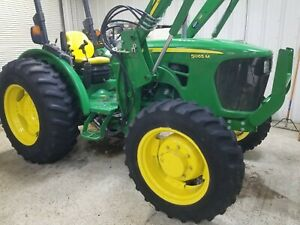 2008 John Deere 5065m 4wd Tractor With Loader