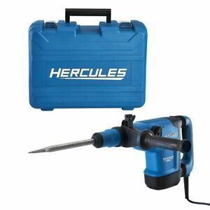 Hercules Sds Max Type Variable Speed Rotary Hammer Cored Power Drill 12 Amp He34