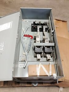 Midwest Electrical 400 200a 240v Double Throw 2p Transfer Switch 0s1402n00 A2