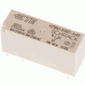 Te Connectivity 24vdc Pcb Mount Spdt Non latching Relay V23061 b1007 a401