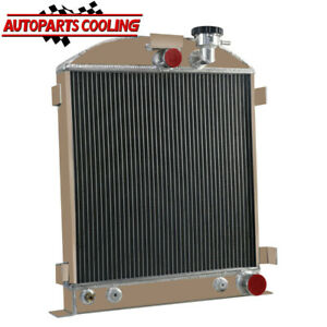 3 Row Aluminium Radiator For 1939 1940 Chevy Engine Ford Grill Shells 3 At Mt