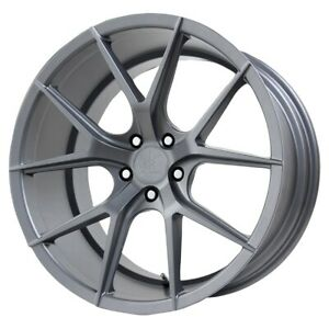 Mounted Wheel Verde V99 Axis 19x8 5 5x112 Et30 Matte Graphite Qty Of 1