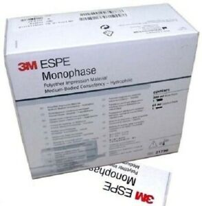 New 3m Espe Monophas Impregum Penta Medium Single Pack Free Shipping