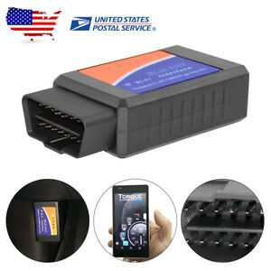 Us Car Wifi Elm327 Obd2 Obdii Diagnostic Scanner Code Reader For Toyota