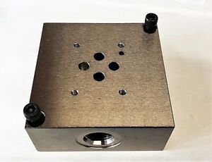 Td03sps8s D03 Subplate Side Ported 8 Sae Dd03sps8s 5000 Psi Rating