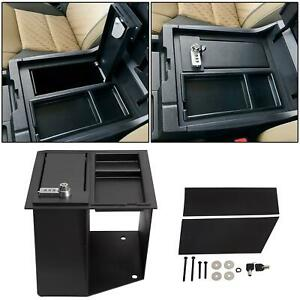 Console Safe Storge Gun W Tray For 14 21 Toyota Tundra Replace For 00016 34174
