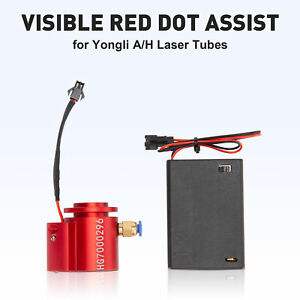 Universal Red Beam Indicator Kit For 80 400w Yongli A h Tube Co2 Laser Engravers