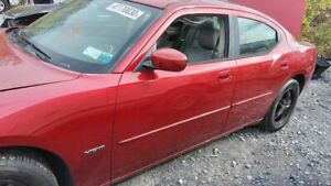 2006 2010 Dodge Charger Driver Front Door W o Anti pinch Windows Red 2098489