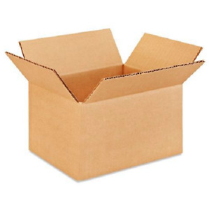 100 8x6x5 Cardboard Paper Boxes Mailing Packing Shipping Box Corrugated Carton