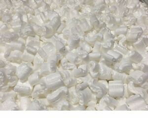 Packing Peanuts Shipping Anti Static Loose Fill 600 Gallons 80 Cubic Feet White