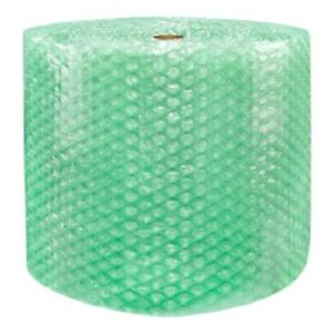 1 2 Sh Recycled Large Bubble Cushioning Wrap Padding Roll 250 X 24 Wide 250ft