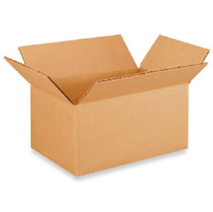 50 8x5x4 Cardboard Paper Boxes Mailing Packing Shipping Box Corrugated Carton