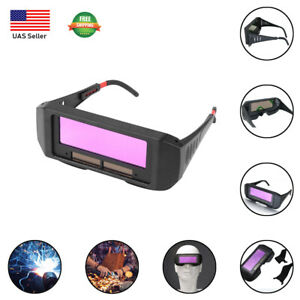 New Solar Auto Darkening Welding Mask Glasses Eyes Protector Filter Lens Tools