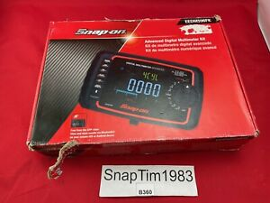 Snap on Tools Eedm596fk Advanced Digital Multimeter