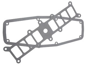 Edelbrock 3832 Replacement Base Plenum Gaskets For 3821 Performer 5 0 Intake