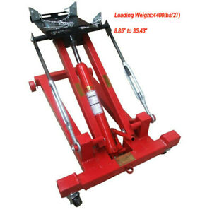 Us Stock Hydraulic Low Lift Floor Transmission Jack 4400lbs Bearer Weight Sales
