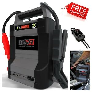 New Schumacher Jump Starter Portable Dsr128 2000 Amp 12v Rechargeable Usb Power