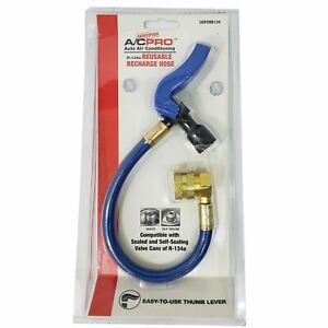 Ac Pro R134a Service Recharge Hose A c Air Conditioning Self Sealing Sealed