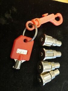 4 Locks 1 Red Key T 008 For 1 800 Vending Machine 1800 Candy Machines