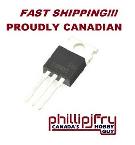 10 Pcs Tip41c Tip41 Npn Transistor 100v 6a Contact To Combine Save Shipping