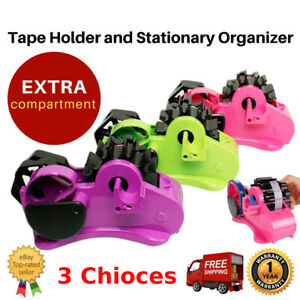 Sticky Tape Dispenser Home Office Heavy Duty Packing Bench Holder Dispensers Am